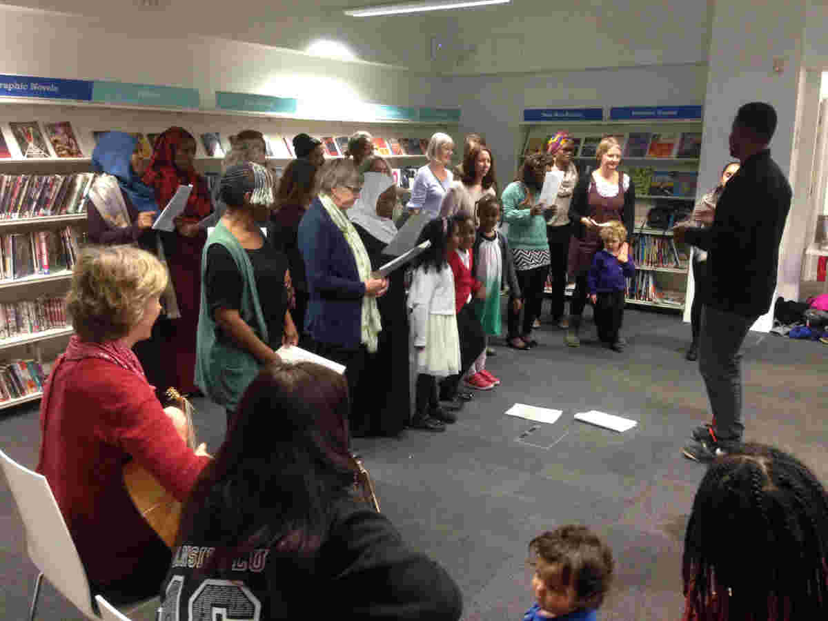 Library choirs project