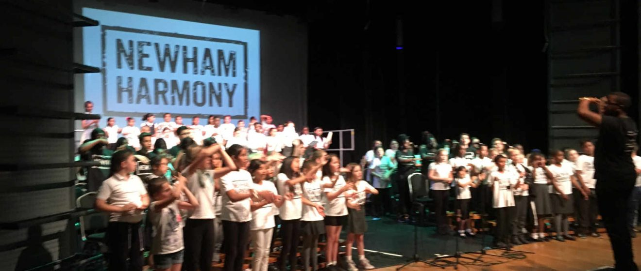 SUMMER FESTIVAL OF YOUTH,  Newham Harmony and NewYVC